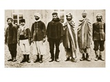 Morocco to France to Germany (Sepia Photo) Giclee Print by  German photographer