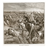 The Battle of Marathon (Litho) Giclee Print by  English
