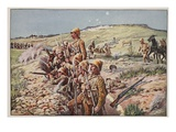 Fix Bayonets! in the Trenches at Ladysmith Giclee Print by Richard Caton Woodville