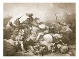 Battle of Bosworth Field, Engraved by J. Thomson Giclee Print by Philip James Loutherbourg