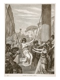 Sports of Greek Girls (Litho) Giclee Print by  English