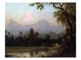 Rio De Janeiro, Brazil, C.1865 (Oil on Board) Giclee Print by Martin Johnson Heade