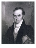 Daniel Webster (1782-1852) (Engraving) Giclee Print by James Barton Longacre