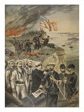 The Spanish American War: Landing at Guantanamo Giclee Print by  French