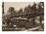 Loading the 38Cm Cannon (B/W Photo) Giclee Print by  German photographer