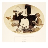 Tailors, Hindoos, Madras, from 'The People of India', by J. Forbes Watson, Published 1868 Giclee Print by  English Photographer