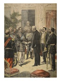 The Ambassador of Russia, Prince Ourousoff at the Elysee Giclee Print by Fortuné Louis Méaulle