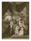 Trial of the Marriage of Henry Viii, Engraved by T. Holloway Giclee Print by Robert Smirke