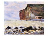 Les Petites Dalles, Pourville, 1881 (Oil on Canvas) Giclee Print by Claude Monet