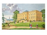 The Chateau of Montmorency, Near Paris, C.1815-20 (Colour Engraving) Giclee Print by  French
