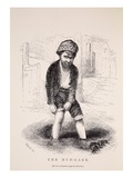 The Mud-Lark, after a Daguerreotype by Richard Beard Giclee Print by  English