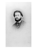 Emile Zola (1840-1902) Aged 25, C.1865 (B/W Photo) Giclee Print by A. Pinsard