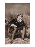Portrait of Oscar Wilde (1854-1900), 1882 (B/W Photo) Giclee Print by Napoleon Sarony