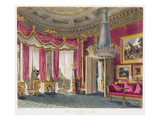 Rose Satin Drawing Room (Second View) Carlton House, Engraved by R. Reeve (Fl.1811-37) Giclee Print by Charles Wild