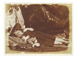 The Bedfellows, C.1843-47 (Salted Paper Print from Calotype Negative) Giclee Print by David Octavius Hill