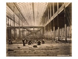 North Court, 21st February, 1862 (B/W Photo) Giclee Print by  English Photographer