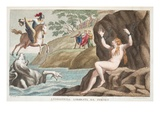 Perseus and Andromeda, Book IV, Illustration from Ovid's Metamorphoses, Florence, 1832 Giclee Print by Luigi Ademollo