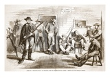"Some of ""Wilson's Boys"" in Wooden Camp at Staten Island, from a Sketch by Our Special Artist Giclee Print by  American"