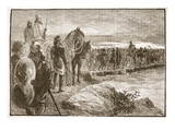 Xerxes Crossing the Hellespont (Litho) Giclee Print by  English