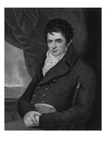 Robert Fulton (1765-1815), Engraved by George Parker (Fl.1834-D.1868) (Engraving) Giclee Print by Benjamin West