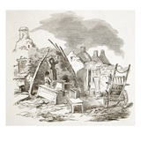 Scalpeen of Tim Downs, at Dunmore, from 'The Illustrated London News', 1849 (Engraving) Giclee Print by  English