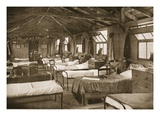 One of the Bedrooms, Donington Hall, Illustration from 'German Prisoners in Great Britain' Giclee Print by  English Photographer