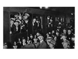 Overwhelmed with Kindness: the First Train with Exchanged British Prisoners at Zurich Giclee Print by  Swiss photographer