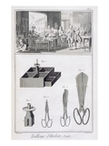 Tailor, from the 'Encyclopedie Des Sciences Et Metiers' by Denis Diderot (1713-84) Published C.1770 Premium Giclee Print by  French