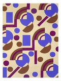Design from 'Nouvelles Compositions Decoratives', Late 1920S (Pochoir Print) Giclee Print by Serge Gladky