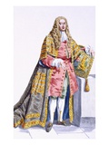 Philip Yorke (1690-1764) First Lord Hardwick Giclee Print by Pierre Duflos