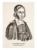 Le Maitre De Saci (Litho) Giclee Print by Louis Jean Desprez