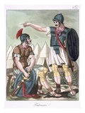 Praetorian Guard, Illustration from &#39;L&#39;Antique Rome&#39;, Engraved by Labrousse, Published 1796 Giclee Print by Jacques Grasset de Saint-Sauveur