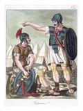 Praetorian Guard, Illustration from 'L'Antique Rome', Engraved by Labrousse, Published 1796 Giclee Print by Jacques Grasset de Saint-Sauveur