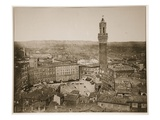 Siena, 1870S (Sepia Photo) Giclee Print by  Italian Photographer