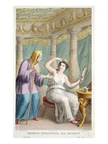 Semele Is Deceived, Illustration from Ovid's Metamorphoses, Florence, 1832 Giclee Print by Luigi Ademollo