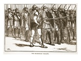 The Macedonian Phalanx (Litho) Giclee Print by  English