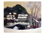 Sandviken, Norway, 1895 Giclee Print by Claude Monet