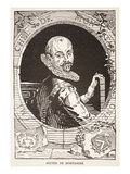 Michel De Montaigne (Litho) Giclee Print by  French