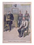 The Assassin of Choisy-Le-Roy Being Photographed before Professor Bertillon Giclee Print by Henri Meyer