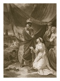The Surrender of Calais, Engraved by A. Smith Giclee Print by Robert Smirke