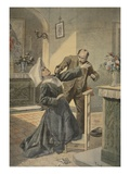 A Drama in an Asylum: Assassination of Sister Boinet at Libourne Giclee Print by  French