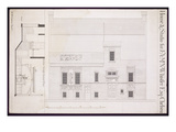 Design for House and Studio for J.A.M. Whistler Esq, Chelsea, C.1877-78 Giclee Print by Edward William Godwin