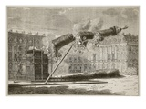 Fall of the Vendome Column, April 1871 Giclee Print by  French