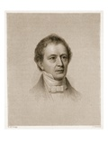 Edward Everett, Engraved by John Cheney (1801-85) (Engraving) Giclee Print by Richard Morrell Staigg