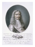 Henri De La Tour D'Auvergne Giclee Print by Antoine Louis Francois Sergent-marceau