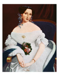 Luisa Pesjakova, C.1855 (Oil on Canvas) Giclee Print by Mihael Stroj
