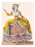 Grande Robe a La Sultane', Plate No.167 from 'Galeries Des Modes Et Costumes Francais', C.1778-87 Giclee Print by Pierre Thomas Le Clerc