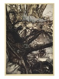 Never Harm, Nor Spell Nor Charm, Come Our Lovely Lady Nigh Giclee Print by Arthur Rackham