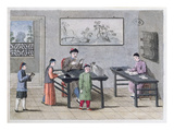A Chinese School, C.1810 (Colour Litho) Giclee Print by  European