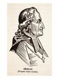 Fenelon (Litho) Impression giclée par Augustin De Saint-aubin